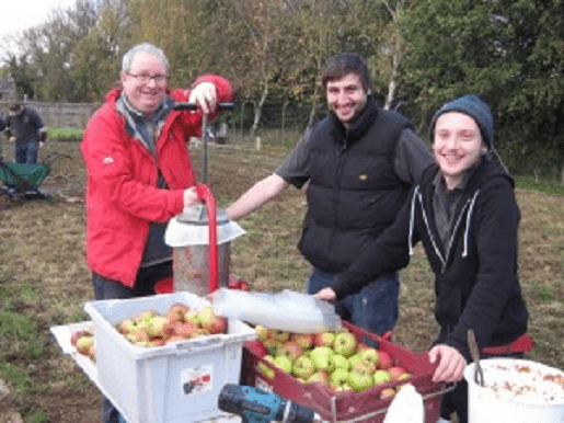 Allotment food co-ops