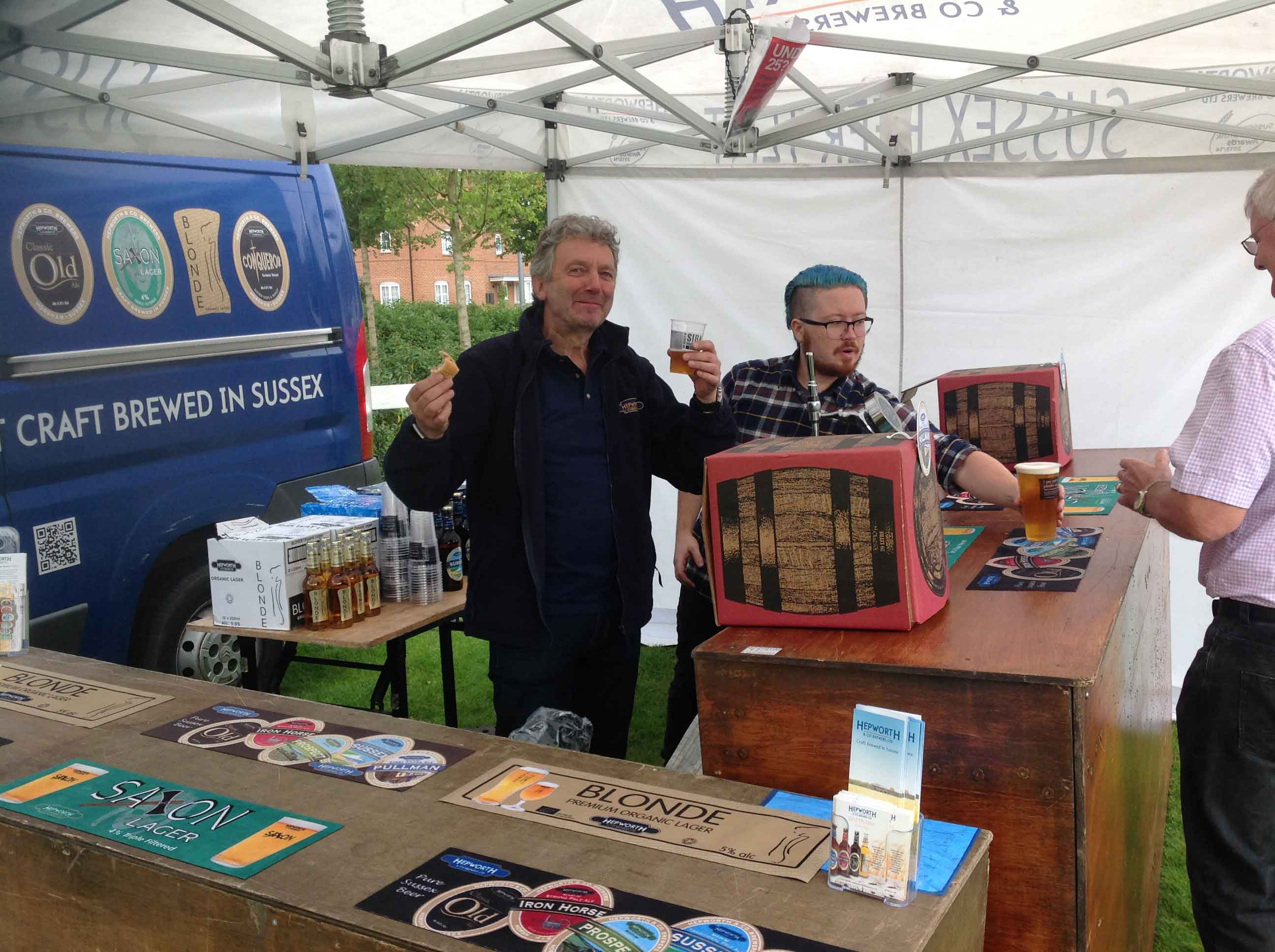 Kilnwood fun day craft beer